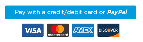 Pay with credit/debit card or PayPal